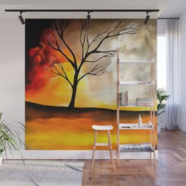 Warm Afternoon Wall Mural