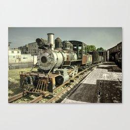 Havana Steamer Canvas Print