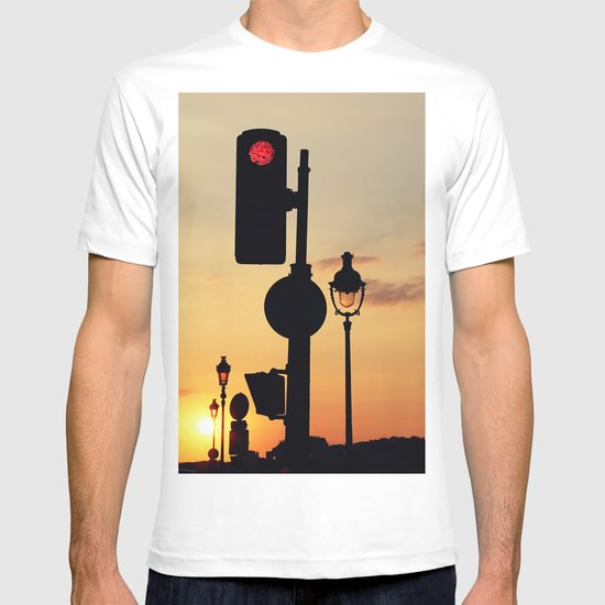 Stop and look at the sunset T-shirt