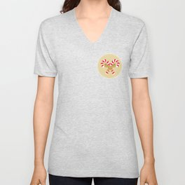 Merry Christmas With Love Unisex V-Neck