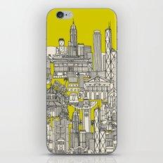 Hong Kong toile de jouy chartreuse iPhone & iPod Skin