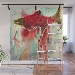 Sockeye Season Wall Mural