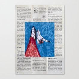 Na Cabina, Lendo as Estrelas, Estrelas Infinitas Canvas Print