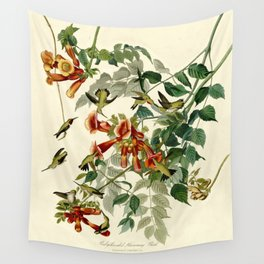 Ruby-throated Humming Bird Wall Tapestry