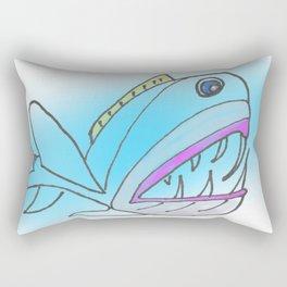 Fish Portrait Rectangular Pillow