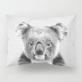Koala - Black & White Pillow Sham