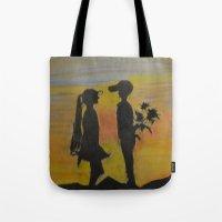 childish gambino Tote Bags featuring Childish Love by Love Art Wonders by God Nickyart