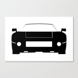 Race Car Icon Canvas Print