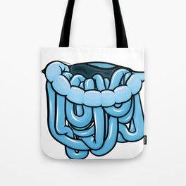 viscera : blue razz Tote Bag