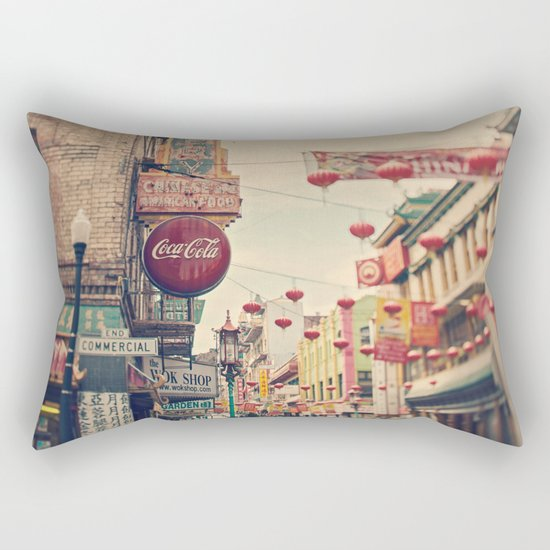 Chinatown (San Francisco) Rectangular Pillow
