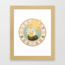Goose Girl Framed Art Print