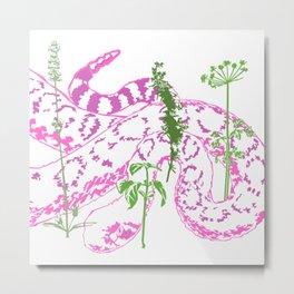 Herb Garden Metal Print