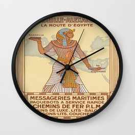 Vintage poster - Egypt Wall Clock