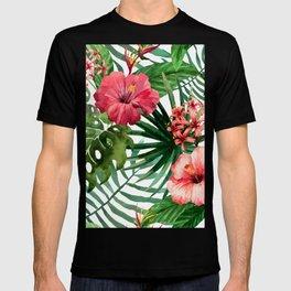 FLOWERS WATERCOLOR 8 T-shirt