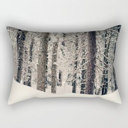 Winter Woods 1 Rectangular Pillow