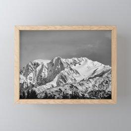 Mountain Glacier Two Framed Mini Art Print