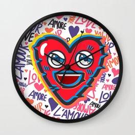 LOVE BEAT Wall Clock