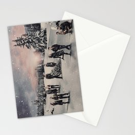 Christmas / OUAT Group Stationery Cards