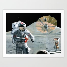 Moment of Reflection Art Print