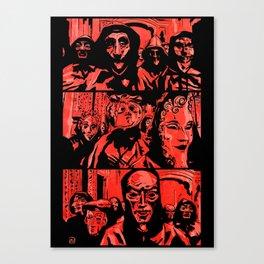 Eyes Wide Shut #1 Canvas Print