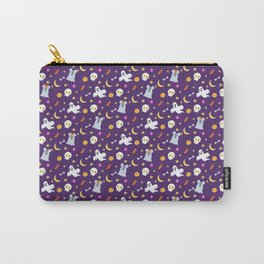 Halloween Mouse Ears Ghosts Carry-All Pouch