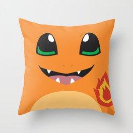 Char monster Throw Pillow