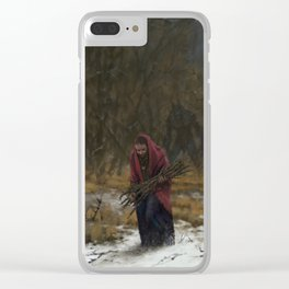 Fiance Clear iPhone Case