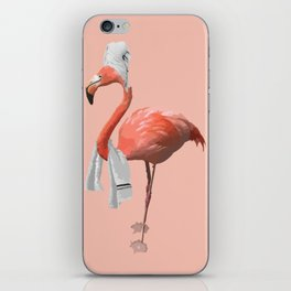 Squeaky Clean Flamingo iPhone Skin