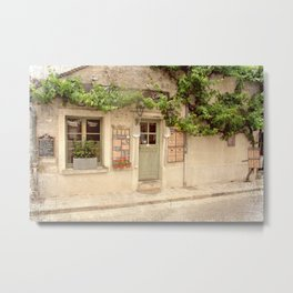 French Cafe Metal Print