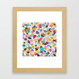 buttercups 2 sq Framed Art Print