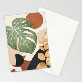 Branches and Leaves in an Abstraction 01 Stationery Cards