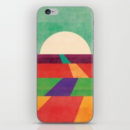 The path leads to forever iPhone Skin