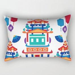 Lanterns Rectangular Pillow