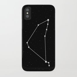 Capricorn Star Sign Night Sky iPhone Case