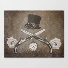 Steampunk or Death Canvas Print