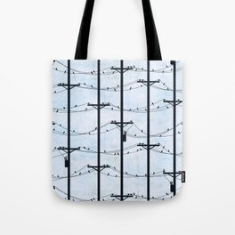Telephone Poles - DAY Tote Bag