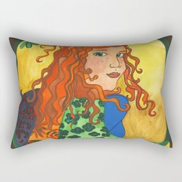 Goddess Brigid Rectangular Pillow