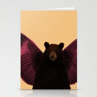 beard Stationery Cards featuring Beard by Triplea