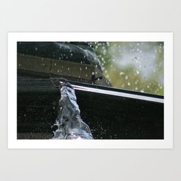 Central Park Fountain Art Print