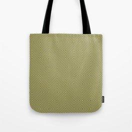 Yellow grey lines Tote Bag