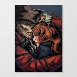 Hancock and Silver Shroud Canvas Print