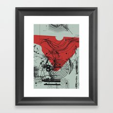 tell your ma tell your pa  Framed Art Print