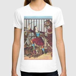 The Lion Queen - Vintage Circus Art, 1873 T-shirt