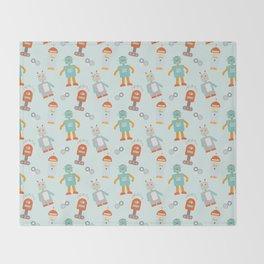 Mr. Roboto Throw Blanket