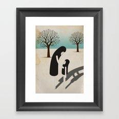padre/figlio Framed Art Print