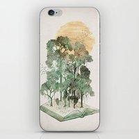 threadless iPhone & iPod Skins featuring Jungle Book by David Fleck