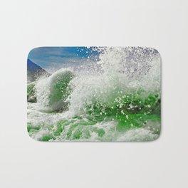 The Green Splash Bath Mat