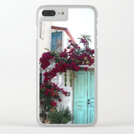 Old doors Clear iPhone Case