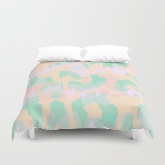 Tamsin - Soft Abstract Duvet Cover