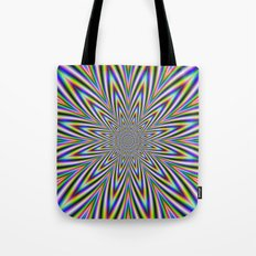 Psychedelic Star Tote Bag